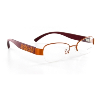 Wood Look by Gold & Wood WL008 (Wood Temples) Eyeglasses