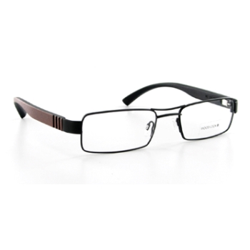 Wood Look by Gold & Wood WL011 (Wood Temples) Eyeglasses