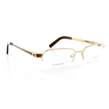 Wood Look by Gold & Wood WL015 (Wood Temples) Eyeglasses