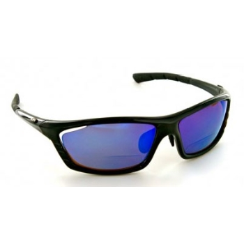 XX2i XX2i USA1 Pro Polarized Sports Reader Black Gloss Sunglasses