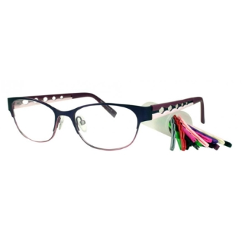 Bulova Interchangeables Marda Loop Eyeglasses