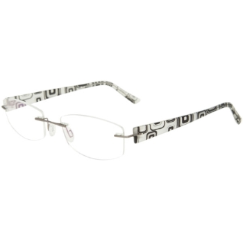 3 Piece Drill Mounts CAFE3122 Eyeglasses
