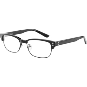 Converse Black Canvas Off Beat Eyeglasses