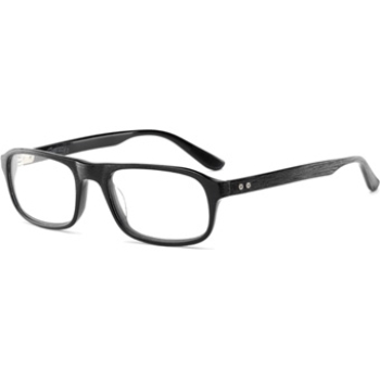 Converse Black Canvas Parquet Eyeglasses