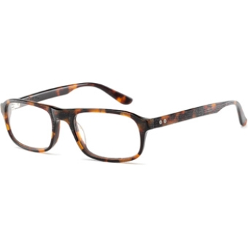 Converse Black Canvas Parquet AF Eyeglasses