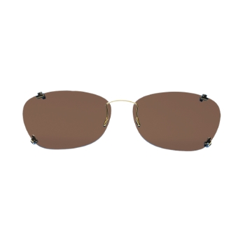 eClips Illusion Standard w/AR (Brown Lenses) Eyeglasses