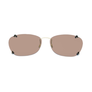 eClips Illusion Polarized w/AR (Light Brown Lenses) Eyeglasses