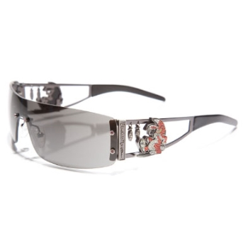 Ed Hardy EHS 026 Rabbit Sunglasses
