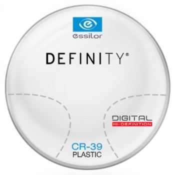 Essilor Definity® Digital by Essilor Plastic CR-39 Progressive Lenses