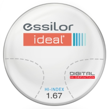 Essilor Ideal Digital Computer Lens Hi-Index 1.67 Progressive Lenses