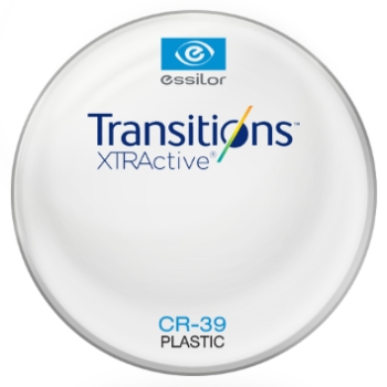 Essilor Transitions® XtrActive® - Plastic CR39 Lenses