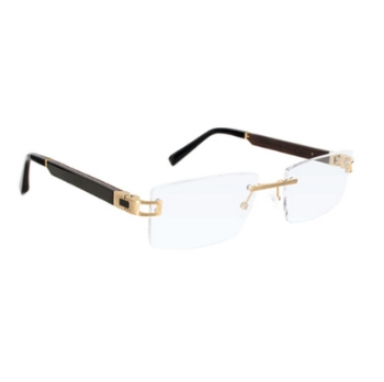 Gold & Wood Cosmos 05 Eyeglasses
