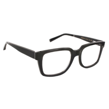 Gold & Wood Odeon Eyeglasses
