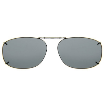 Haven Clip Rec 12 Gunmetal Frame Gray Lens Sunglasses