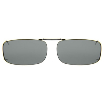 Haven Clip Rec 15 Gumetal Frame Gray Lens Sunglasses