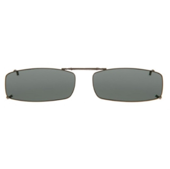 Haven Clip Rec 18 Gunmetal Frame Gray Lens Sunglasses