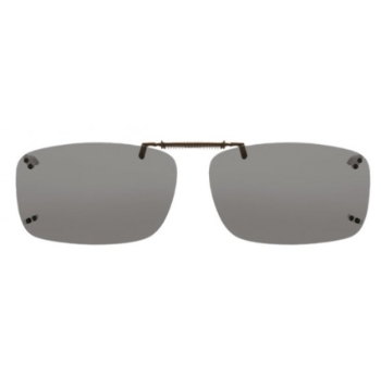 Haven Clip Rec 19 Gray Lens Sunglasses