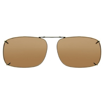 Haven Clip Rec 1 Bronze Frame Amber Lens Sunglasses