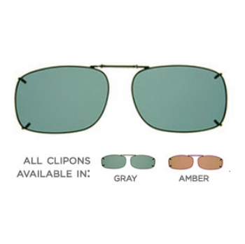 Haven Clip Rec 1 Gray Lens Sunglasses