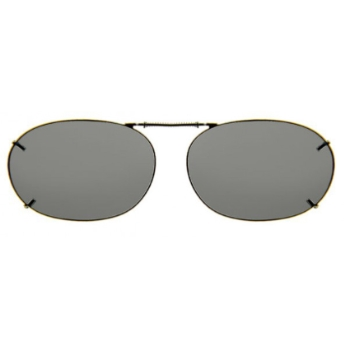Haven Clip Rec 2 Gunmetal Frame Gray Lens Sunglasses