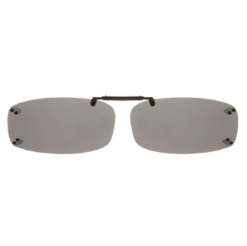 Haven Clip Rec 4 Black Grays Lens Sunglasses