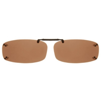 Haven Clip Rec 4 Black Amber Lens Sunglasses