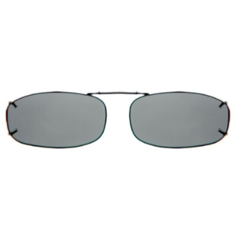 Haven Clip Rec 4 Gunmetal Frame Gray Lens Sunglasses