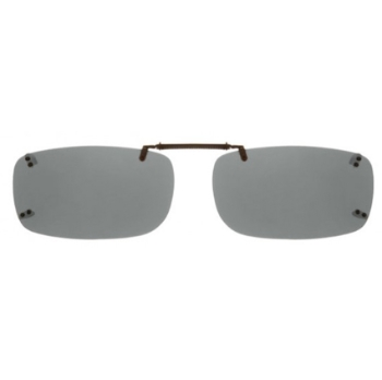 Haven Clip Rec 5 Black Gray Lens Sunglasses