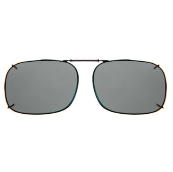 Haven Clip Sqr 2 Gunemtal Frame Gray Lens Sunglasses