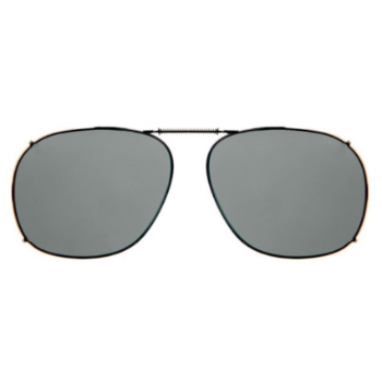 Haven Clip Sqr 3 Gunmetal Frame Gray Lens Sunglasses