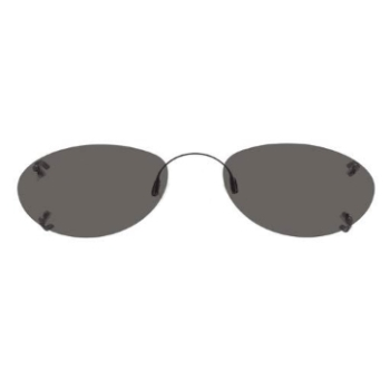Hilco Traditional Ellipse Sunclip - Bronze Sunglasses