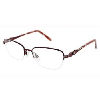 4c1b3e2fe4 Jessica McClintock Semi-Rim Eyeglasses