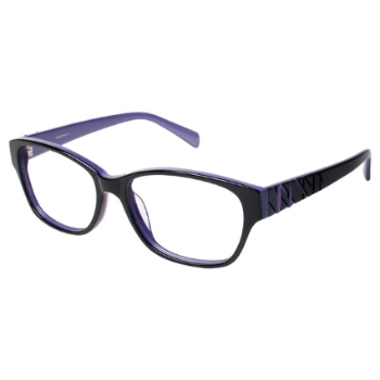 L Amy Zoe Eyeglasses