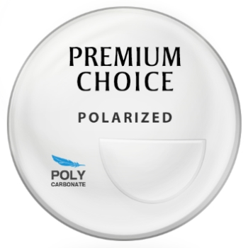 Premium Choice Polycarbonate Polarized [Gray or Brown] Bi-Focal FT-28 Lenses