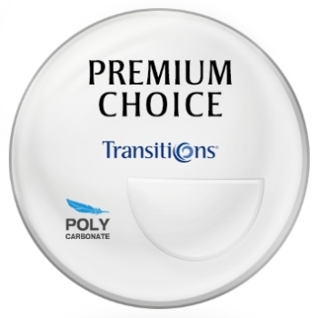 Premium Choice Transitions® - Polycarbonate - Bi-Focal FT-28 Lenses