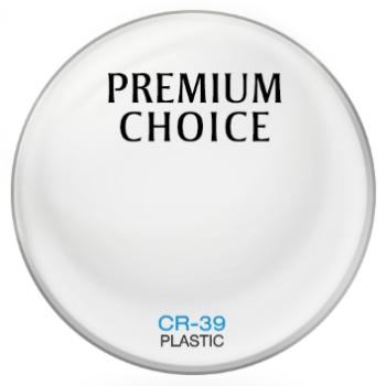 Premium Choice Standard Plastic CR-39 Lenses