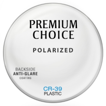 Essilor Polarized [Ocean] Plastic CR-39 W/ Backside AR coating Lenses