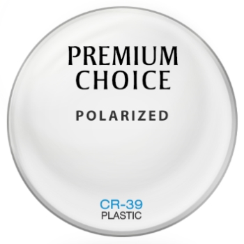 Premium Choice Polarized - Plastic CR-39 Plano Lenses