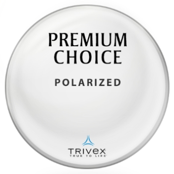 Premium Choice Polarized [Grey, Green, or Brown] Trivex Lenses