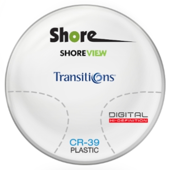 Shore Lens Shore View Digital Transitions® SIGNATURE VII - CR-39 Plastic Progressive Lenses