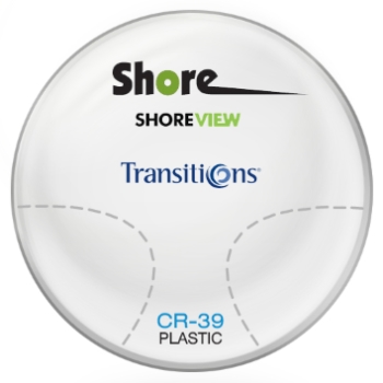 Shore Lens Shore View Transitions® SIGNATURE VII - [Gray] Plastic CR-39 Progressive Lenses