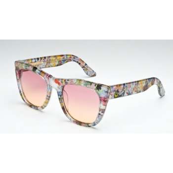Super Gals IEJ1 QN1 Hello Kitty Large Sunglasses