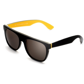 Super Flat Top Summer Love Yellow 278 Sunglasses