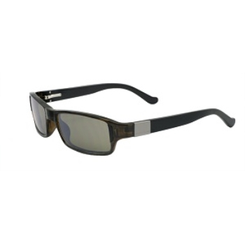 Switch Bespoke Olive Black / True Color Grey Reflection Silver Polarized Glare Kit Sunglasses