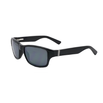 Switch Zealot Shiny Black / True Color Grey Reflection Blue Polarized Glare Kit Sunglasses