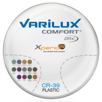 Varilux Varilux Comfort DRx® Xperio UV™ Polarized w/ Back-side AR Coating - Plastic CR-39 Progressive Lenses