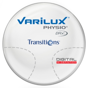 Varilux Varilux Physio DRX, Transitions® Signature™ 8 Green Polycarbonate Lenses