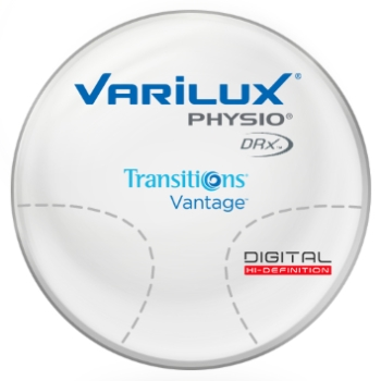Varilux Varilux Physio DRx® Transitions® Vantage™ Polarizing Gray CR-39 Progressive Lenses