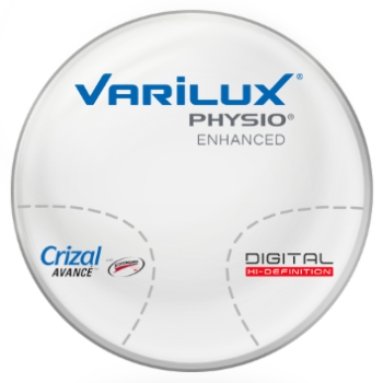 Varilux Varilux Physio Enhanced Hi-Index 1.67 Progressive W/ Crizal Avancé AR Lenses