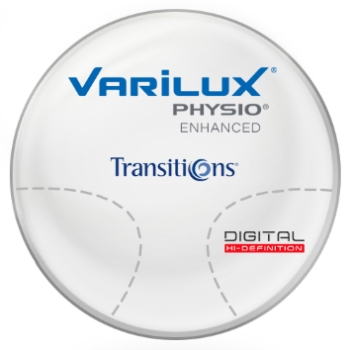 Varilux Varilux Physio Enhanced Transitions® SIGNATURE 8 [Gray or Brown] Hi-Index 1.67 Progressives Lenses
